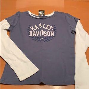 DETROIT Harley Davidson ringer LS tee